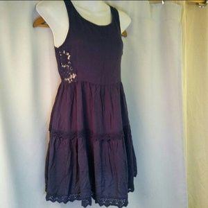 Solemio Boho Sleeveless Dress, S